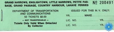 Ticket Book