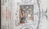 Certificate, Commemorative