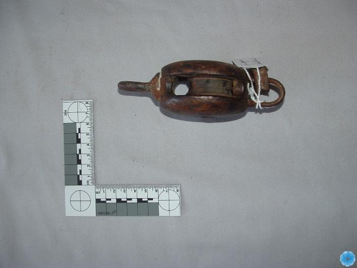 """Small 4"""" Wooden Pulley"""