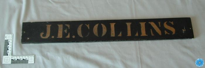 Name Plate for Ships Cabin