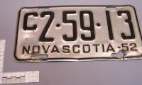 Plate, License