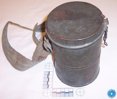 Canister, Gas Mask